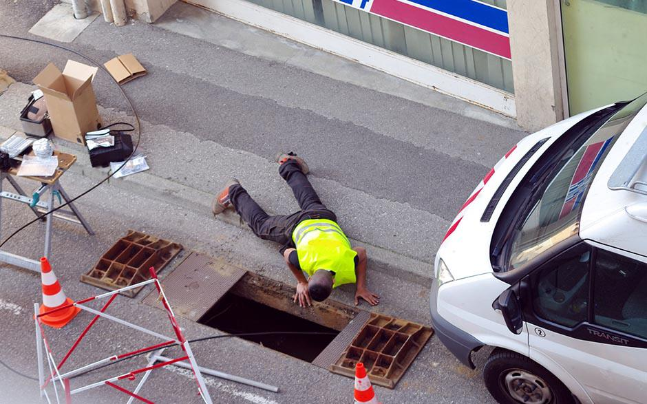 travaux assainissement Paris 17